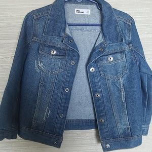 Epic Threafs Boys size 4 Jean jacket